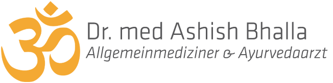 Dr. med Ashish Bhalla - Logo